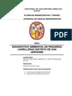 Diagnostico Ambiental Ladrilleras San Jerónimo