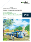 Tramway for Kassel