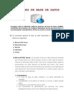 GESTORES DE BASES DE DATOS........doc