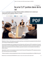 Gobierno Detalla a La CUT Puntos Clave de La Reforma Laboral _ Negocios _ LA TERCERA