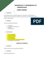 Norma de Diagnóstico y Tratamiento de Odontología
