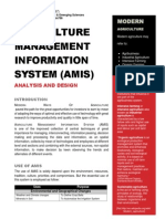 Agriculture Management Information System (AMIS)