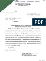 Chaney et al v. Chase Home Finance, L. L. C. et al - Document No. 6