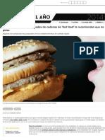 Ocho cosas que los empleados de cadenas de 'fast food' te recomiendan que no pidas | Actualidad | Ca