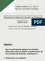 Metodología de Análisis Circuitos de Flotación- Nov-09. P-Imprimir