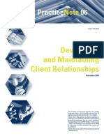 PN06 Maintaining Client Relationships