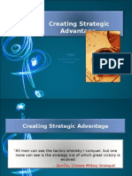 Creating Strategic Advantage