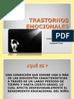 Clase Trastornos Emocionales