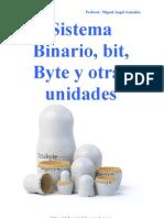 Sistema Binario, bit, Byte y otras unidades
