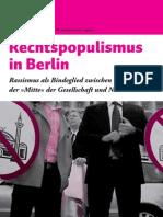 Broschuere Rechtspopulismus