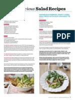 Recipes for Salads