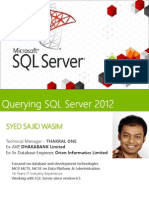 01 - Introducing SQL Server 2012