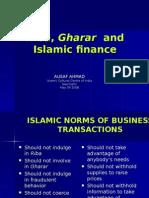 Riba and Islamic Finance