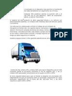 Letras - gps tracker - tractores y camiones