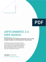 AspxCommerceV2.6 User Manual