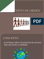Orden Social Es una orden que no depende del azar, si no es una orden que surge el cumplimiento de una ley natural