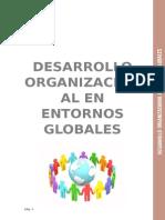Informe Desarrollo Organizaiconal en Entornos Globales