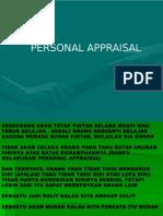 Kumpulan Motivasi untuk Personal Appraisal