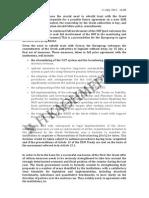 Propositions de l'Eurogroupe du 11 juillet 2015