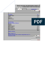 Rcc Rate Analsysis Mix Design
