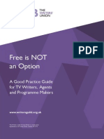 WGGB Free is NOT an Option Guidelines
