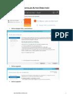 Active Directory Instalacion Sc