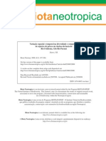 Full Paper em ecologia e análise
