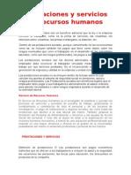 6. M Prestaciones y Servicios de Recursos Humanos