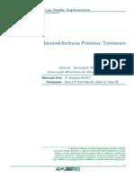 Imunodeficiências Primárias - Tratamento