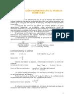 Resumen - Deformación Volumétrica