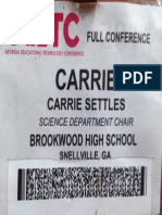 GaETC Name Badge