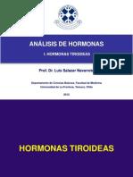 Hormonas tiroideas Sexuales