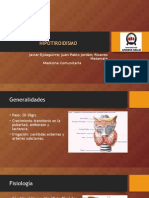 Hipotiroidismo comunitaria