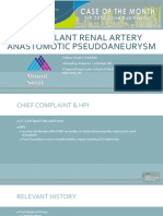 Patil_Transplant Renal Artery Anastomotic Pseudoaneurysm