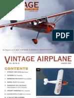 Vintage Airplane - Aug 2001