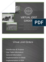 Virtual Joist Girder PP 091912
