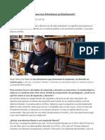 Hugo Neira - Los Peruanos Nos Detestamos Profundamente