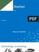 Yammer Guia de Treinamento