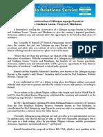 july11.2015.docSolon seeks construction of Libingan ng mga Bayani in Northern & Southern Luzon, Visayas & Mindanao