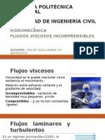 FLUIDOS VISCOSO INCOMPRENSIBLES
