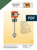 Sensore de Nivel Magnetoestrictivos Kobold Brochur