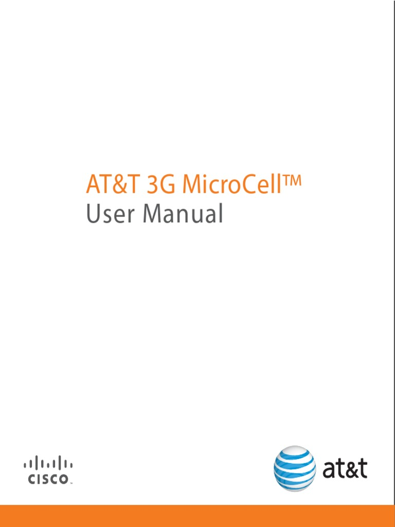at t 3g microcell usermanual internet access mains electricity rh scribd com 3G MicroCell Hack 3G MicroCell Troubleshooting