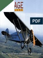 Vintage Airplane - May 2002