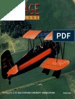 Vintage Airplane - Mar 2002