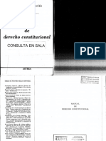 Manual de Derecho Constitucional - Nestor Pedro Sagüés - Primera Sección