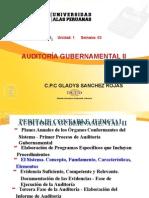 Auditoría Gubernamental II