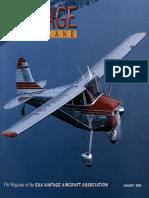 Vintage Airplane - Aug 2003