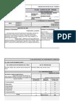 Plan Anual Segundo Grado 2015 - 2016