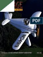 Vintage Airplane - Apr 2003