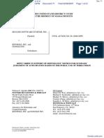 Skyline Software Systems, Inc. v. Keyhole, Inc et al - Document No. 71